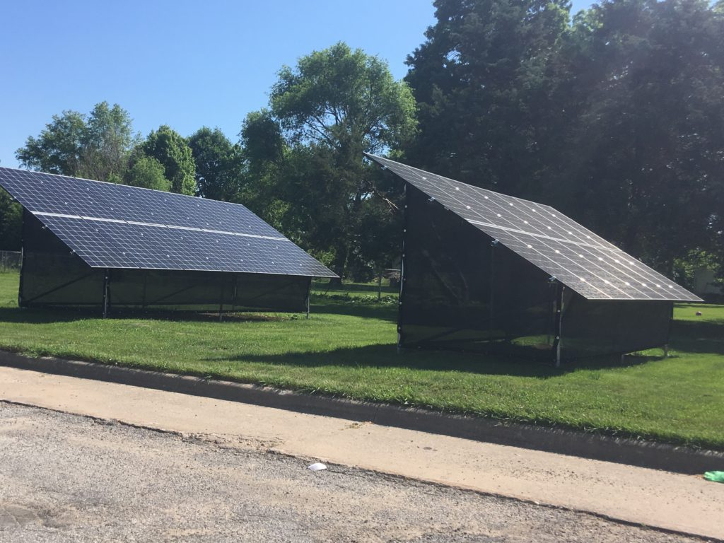 8.4 kW Solar Installation - Burlington, Iowa home